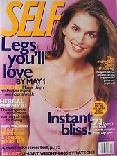 CINDY CRAWFORD  April 2000 SELF Magazine