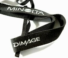 Minolta DiMAGE Woven Camera Neck Strap / Shoulder Strap - Black & Grey