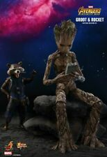 Hot Toys MMS 476 Guardians of the Galaxy Avengers Infinity War Rocket and Groot