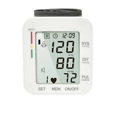 Zigbow Automatic One Touch Blood Pressure and Pulse Monitor w/ LCD Screen