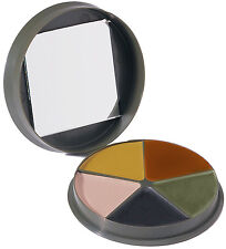 camo face paint 5 colors box with mirror rothco 9205
