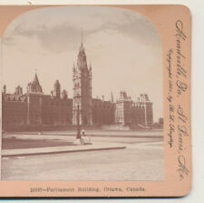 Parliament Building Ottawa Canada Keystone Stereoview 1901