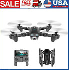 CSJ S167 Drones GPS FPV with 4K HD Wide Angle Camera Foldable RC Quadcopter P2D7