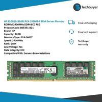 HP 32GB (1x32GB) PC4-19200T-R 2Rx4 RDIMM 2400MHz DDR4 - 805351-B21