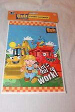 NEW BOB THE BUILDER   8 LOOT BAGS  PARTY SUPPLIES LETS GET TO WORK