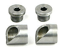 Zippers Weld-In Oxygen Sensor Bung Angled (Each) to suit Harley