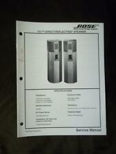 Bose Service Manual for the 701 Direct / Reflecting Speaker System 1994  mp