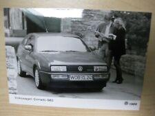 VW Corrado G60 Press Photo Presse Foto 1989 no brochure/Prospekt 1 item
