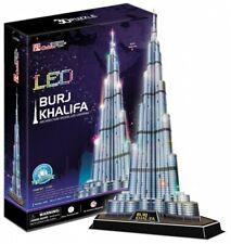 Puzzle 3D  Burj Khalifa skyscraper with Led lights