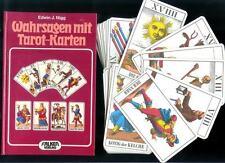 1jj storico svizzero Tarot Set - 78 Carte Tarocchi & Libro Edwin J. Nigg