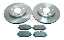 MERCEDES A CLASS A190 1998-2004 FRONT 2 BRAKE DISCS AND PADS SET NEW