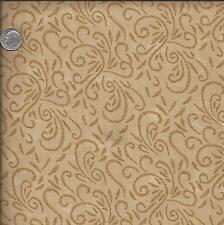 Fabric ~ Moda ~ Friendly Folk ~ Sandy Gervais ~ 100% Cotton ~ Tan~ by the 1/2 Yd