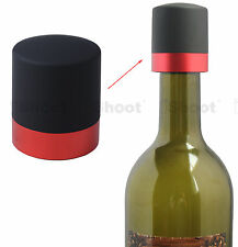 Red Wine Stopper Sparkling Bottle Plug Cork Pourer Sealer Cover Cap LATEST