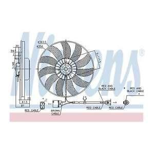 Fits VW Golf MK5 1.6 FSI Genuine OE Quality Nissens Engine Cooling Radiator Fan