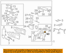 Buick GM OEM 02-07 Rendezvous Console-Deflector 88891360