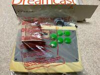 SEGA Dreamcast Official Arcade Stick HKT-7300 Japanese USED Expedited From Japan