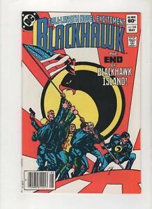 Blackhawk #258 Newsstand Variant, VF+ 8.5, 1st Print, 1983, See Scans