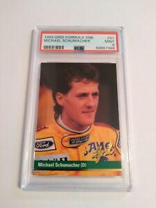 1992 GRID Formula One Michael Schumacher Rookie RC PSA 9 MINT