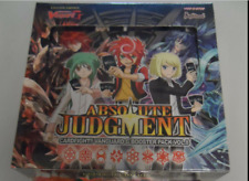 Cardfight!! Vanguard English G-BT08 Absolute Judgment Booster Box