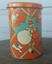 Vintage Metal Jack In The Box Clown Near Mint