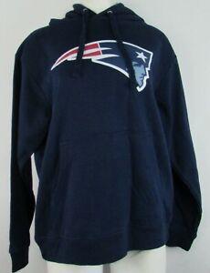 New England Patriots NFL Fanatics Women's Navy Blue Pullover Hoodie #12 Brady