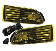 05-10 SCION TC JDM YELLOW LENS FRONT DRIVING FOG LIGHTS LAMPS + WIRING HARNESS