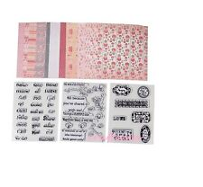 """Little Darlings """"A Time to be Cherished"""" Stamps and Papers"""