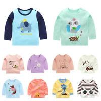 Toddler Kids baby girls clothing tops T shirt girls base shirt  bottoming shirt