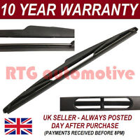 10 Rear Windscreen Wiper Blade Fits Jeep Renegade 2015-2016 2.4 AMWB109JE