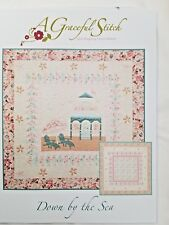 Down by the Sea by A Graceful Stitch Appliqued or pieced quilt Pattern