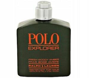 POLO EXPLORER by Ralph Lauren for Men 4.2oz-125ml EDT Spr *NON-BOX NO-CAP*(BU08