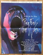 Affiche Cinéma Originale 60x40cm Pink Floyd The Wall 1982 Neuve Superbe