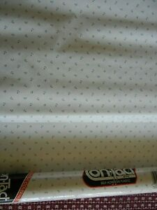 Con-Tact Paper Self Adhesive Plastic Covering Rosebud Pattern New and Open