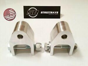 "[SR] 94-18 Dodge RAM 2500 Front /Rear Shock Extenders Brackets for 2"" to 4"" Lift"