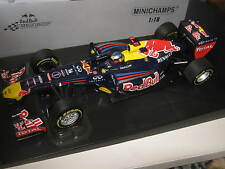 1:18 red bull renault showcar 2012 p. ma grosse L.E. 110120071 Minichamps Ovp New