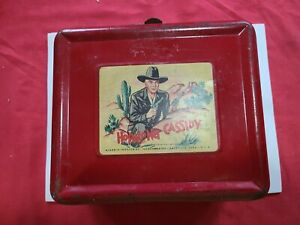 Vintage Aladdin 50's Hopalong Cassidy Lunch Box With Thermos