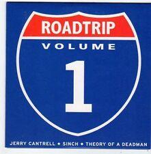 (FG176) Roadtrip Vol 1, 6 track sampler - 2002 DJ CD