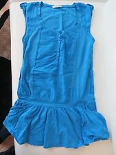 robe tunique bleu turquoise S 36