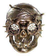 Gold Vengeful Steam Punk Pirate Plastic Mask Masquerade Costume Halloween