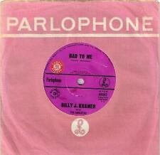 "BILLY J KRAMER - BAD TO ME (BEATLES COVER) - RARE 7"" SAMPLE VINYL RECORD - 1963"