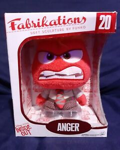 Funko Fabrikations Plush Disney Pixar: Inside Out Movie - Anger #20 Soft Doll