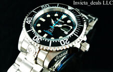 Invicta Men's 47mm Grand Diver Automatic Black Dial Stainless Steel 300m Watch