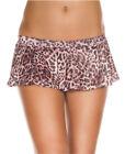 Leopard Print Mini Skirt - Music Legs 158