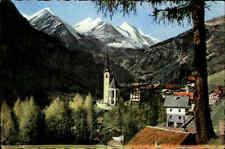 Heiligenblut am Großglockner Österreich Kärnten ~1950/60 Kirche Panorama Berge