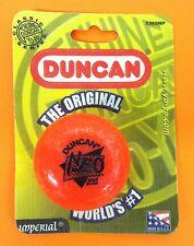 NEW! 1999 Vintage DUNCAN Orange NEO Imperial Yo-Yo New on Card Sealed! # 3269NP