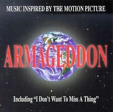 Armageddon: Music Inspired by the Film Soundtrack, Various Artists MUSIC CD
