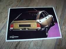 Photo de presse / Press Photograph  CITROEN GS Birotor //