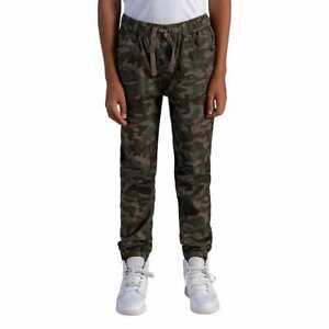 NWT Boy's Levi's Green Camo Twill Jogger Pants Size 7 Regular