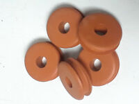 Rubber Grommets A=1-1/4, B=3/8, C=7/16, D=1/4, E=1 in. # C6-16R PK of 5