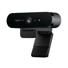 Logitech BRIO 4K Ultra-HD-Webcam für Videokonferenzen, Streaming 960-001106